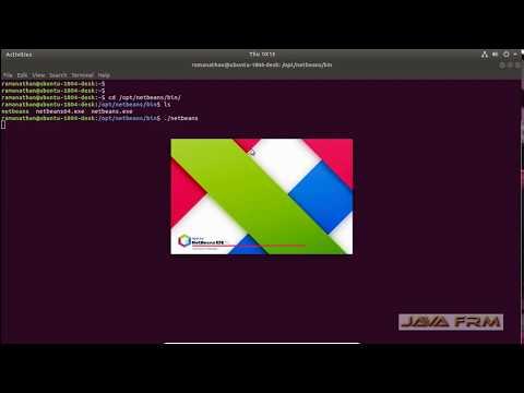 Apache NetBeans 10 Installation on Ubuntu 18.04 LTS and Java 11 Modular Programming