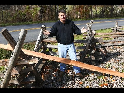 How to Make a Split-Rail Fence, by Rob Wolford