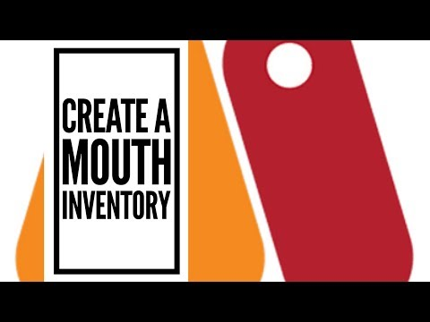 Create a Mouth Inventory in Moho