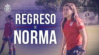 El regreso de Norma Palafox a Chivas Femenil | Especial