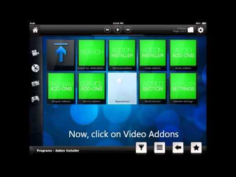 install Phoenix addon to XBMC (KODI) for iOS/iPad/iPhone