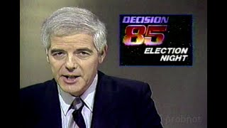 KNBC Nightly News, Los Angeles Mayoral Election, with commercials [April 9, 1985]