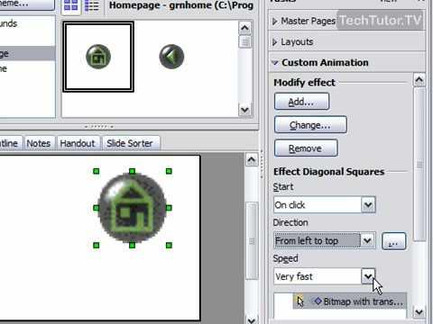 Add a Custom Animation in OpenOffice Impress