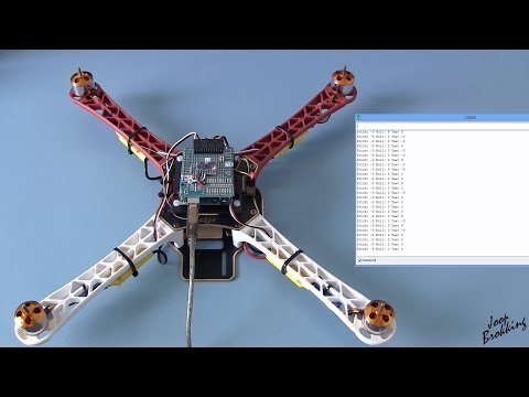 YMFC-AL - Build your own self-leveling Arduino quadcopter - with schematic and code