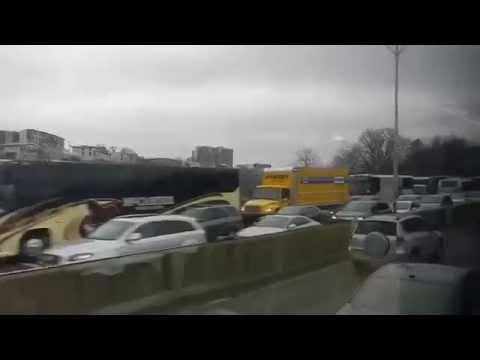 A Traffic Jam in New York City