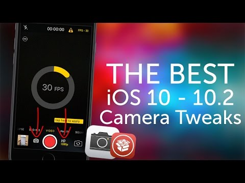 The Best iOS 10 - iOS 10.3.3 Camera Tweaks!