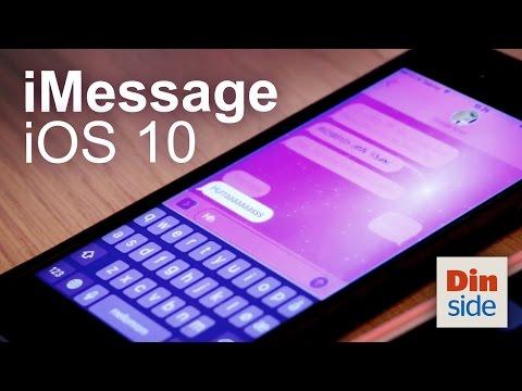 iMessage i iOS 10 – triks og nye funksjoner