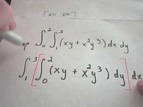 Calculating a Double Integral