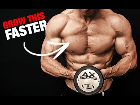 How to Get a Bigger Chest (LIGHT WEIGHTS!!)