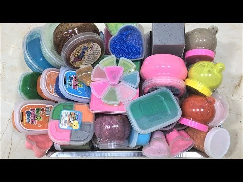 MIXING ALL MY SLIMES TOGETHER!! SLIMESMOOTHIE! SATISFYING SLIME VIDEO PART 22 !