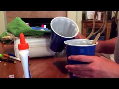 DIY Brown Paint With Glue + Food Coloring