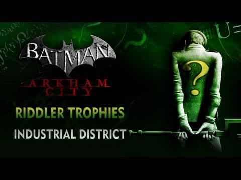 Batman: Arkham City - Riddler Trophies - Industrial District