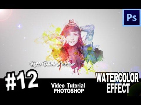 Tutorial Photoshop Cs6 Water Color Effect