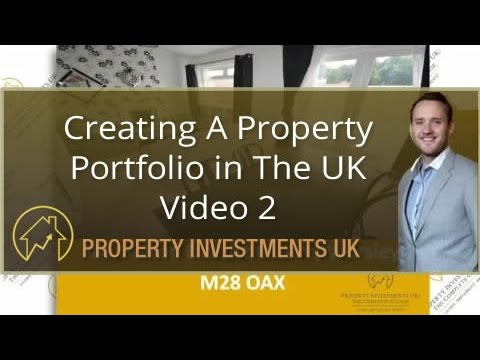 Creating A Property Portfolio in The UK - Buy To Let Deal Figures Revealed - Video 2