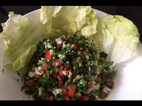 How to make Authentic Lebanese salad Tabouleh