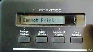 RESET INK BOX FULL/ERROR 46 BROTHER DCP-T300 - Vidly xyz