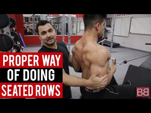 Seated Rows for THICK BACK MUSCLES! (Hindi / Punjabi)