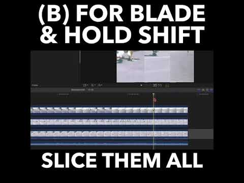 Final Cut Pro X: Slice All Your Layers in One Go