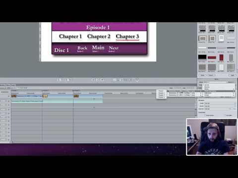 DVD Studio Pro - Creating and Linking Chapters