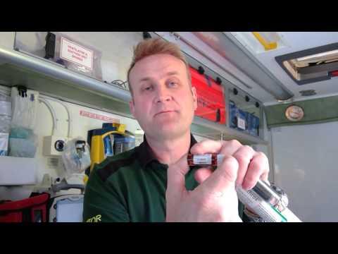 EDMS Penthrox Device Preparation
