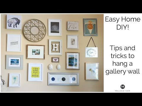 How to Hang a Gallery Wall - Tips and Tricks