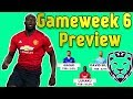 Gameweek 6 Preview  Fpl 20182019 mp3