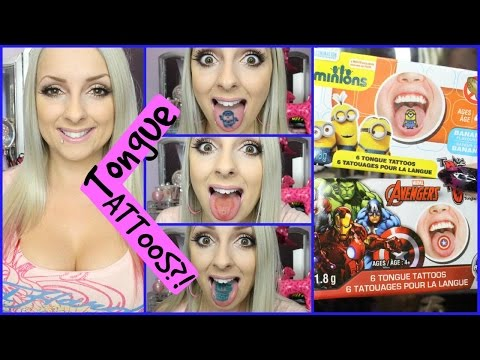 Tongue Tattoos!?! Do These Work?!