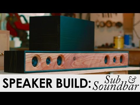2.1 Soundbar System With Sub | DIY Speaker Build