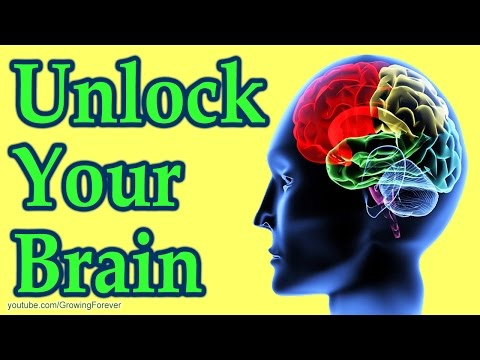 The Brain Unlocked - How to Use Your Brain Power. Subconscious Mind Power, Law Of Attraction Hack