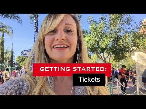 Getting Started: Disneyland Tickets