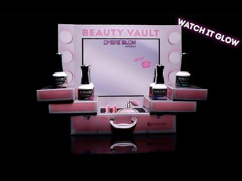New Collection Alert!! Ombré Glow Beauty Vault by Kiara Sky
