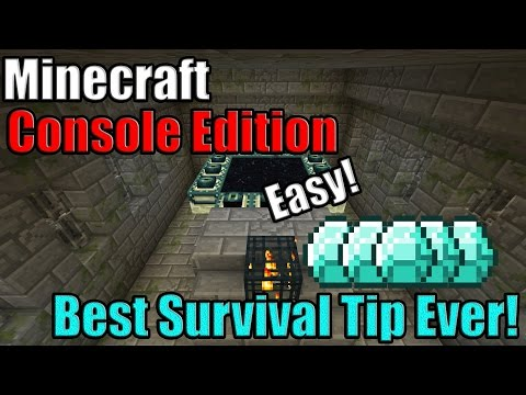 Minecraft's Best Glitch - How To Find Easy Diamonds, Villages, And More! (Xbox One / Ps4)