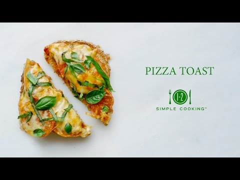 Pizza Toast | 1-2 Simple Cooking