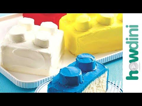Birthday Cake Ideas: How to Make a Building Blocks Cake