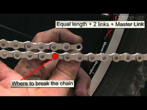 Measuring and Installing a Mountain Bike Chain