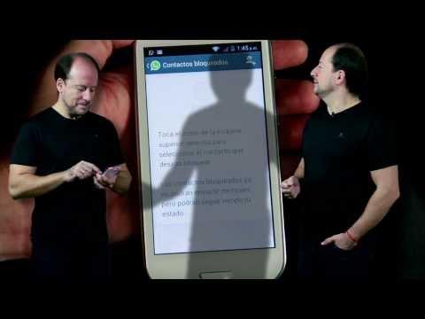 Cómo bloqueo o desbloqueo a un contacto en WhatsApp