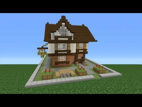 Minecraft Tutorial: How To Make A Pub