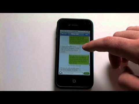 How to print text messages on your iphone or ipad