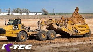 Big Texas Earthmoving Job