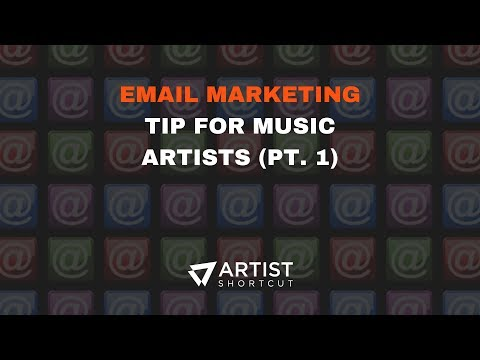 Email Marketing Tip For Music Artists