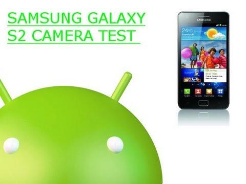 Samsung Galaxy S2 Camera Test Video