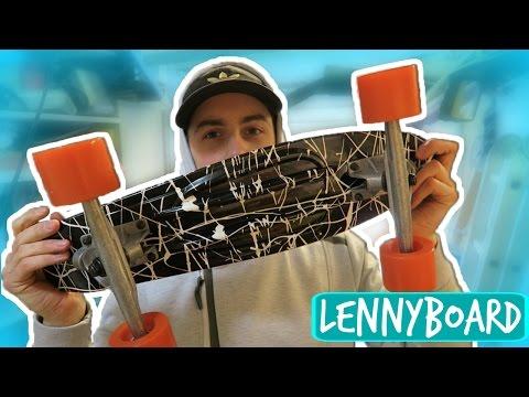 LONGBOARD TRUCKS ON PENNY BOARD