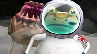 GIANT SANDWORM ATTACK - Amazing Frog - Part 97 | Pungence