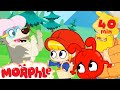 Little Red Riding Hood Mila My Magic Pet Morphle Cartoons For Kids Morphle TV Mila amp Morphle