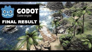 Godot Engine: Non-Photorealistic Rendering 3D (Edge Dection