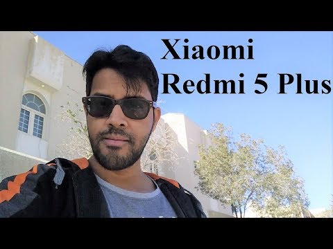 Xiaomi Redmi 5 Plus / Redmi Note 5 - Selfie / Front Camera Quality Test