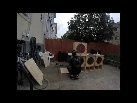 Time lapse reflex speaker build 18 inch