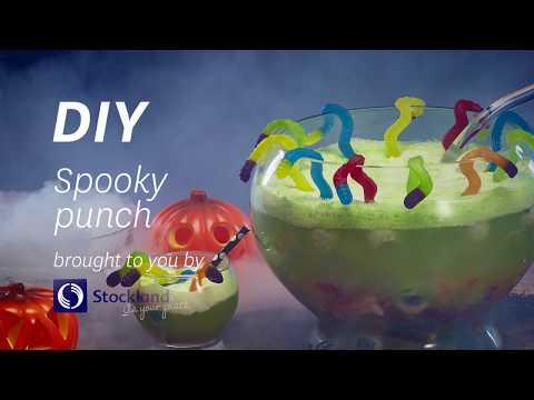 DIY Halloween Spooky Punch