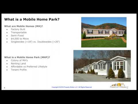Webinar: How to Invest in Mobile Home Parks with Bryce Robertson