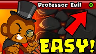 How to Beat The NEW Professor Evil Challenge in BTD Battles | Week 50 part 2